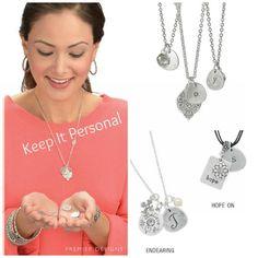 KEEP IT PERSONAL necklace and charms   757-635-4949  Premier757@gmail.com Facebook: PremierDesigns757 http://Rebekah.MyPremierDesigns.com/