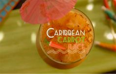 A Spiced Carrot Caribbean Punch You NEED to Try: Trust us on this #ThirstyThursday. #SELFmagazine