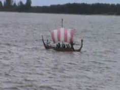 Longship at Gimli Icelandic Viking Festival