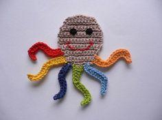 1395732393 927 – Knitting patterns, knitting designs, knitting for beginners. Crochet Seashell Applique, Crochet Applique Patterns Free, Crochet Blanket Patterns, Crochet Motif, Baby Knitting Patterns, Crochet Designs, Crochet Flowers, Crochet Stitches, Crochet Crafts