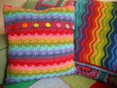 lovely, colourful, and happy crochet from lucy of attic24