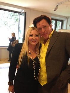 Monika Bacardi and Michael Madsen