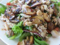 Mushroom And Shredded Chicken Salad Recipe - Food.com - 326636