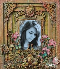 Passionately Curious: Mixed Media Frame...