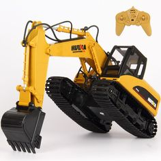 Radio RC Remote Controlled Car Excavator Bulldozer Digger Truck Toy 15 Channel in Toys & Games, Radio Control & RC Toys, RC Model Vehicles & Kits | eBay!