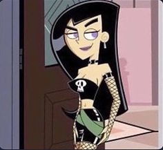 Walking into family gatherings with your religious conservative relatives like. Cartoon Kunst, Cartoon Icons, Girl Cartoon, Cute Cartoon, Cartoon Art, Cartoon Characters, Gothic Characters, Phineas Et Ferb, Vintage Cartoons