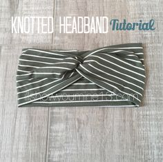 A couple of years ago, I was looking for a specific headband pattern--one that featured a knot but was continuous and didn't have to be tied. I scoured Pinterest, and to my surprise, there was nothing out there like what I was looking for. So, I went to work trying to figure it out on…