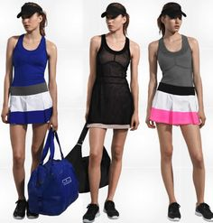tennis clothes from Stella Mcartney's new collection