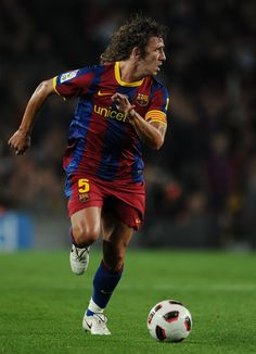 Carles Puyol(Center Defender)