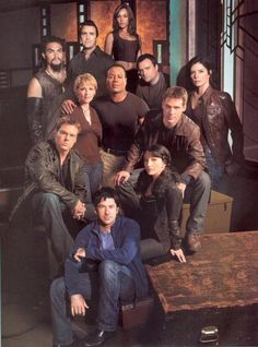 SG1 and SGA <3 Love them all so much!!! *must watch all the seasons again* (I've seen them all 2 or 3 times already. :D lol)