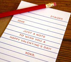 cute idea for a card