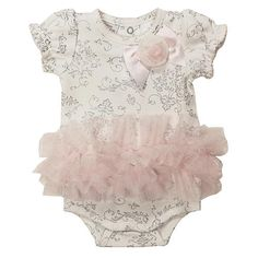 287f06eab This Koala Baby Boutique girl's Tutu Bodysuit is an enchanting look for  your little girl.
