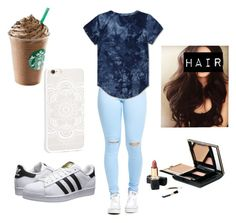 """""""Untitled #144"""" by veronicabrooks1 ❤ liked on Polyvore featuring adidas Originals"""
