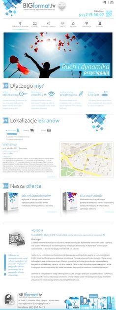 Website for BigFormat.tv  |  Design: www.pinkelephant.pl /web design /layout /portfolio /web /design /logo