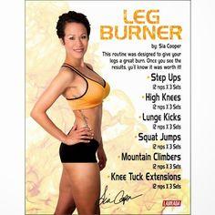*NEW* Leg Burner Workout