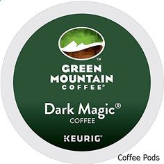 Coffee Pods - Green Mountain Coffee Dark Magic Keurig Single-Serve K-Cup Pods, Dark Roast Coffee, 24 Count