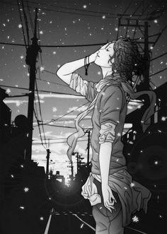 girl, anime