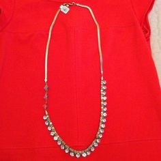 Loft Diamond & Gold Necklace. Brand new! Never worn! Tags are still on. LOFT Jewelry Necklaces