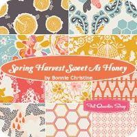 Spring Harvest Sweet as Honey Fat Quarter BundleBonnie Christine for Art Gallery Fabrics