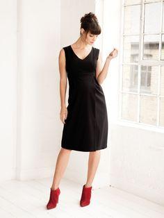 Black Tailored Maternity Dress | JoJo Maman Bebe