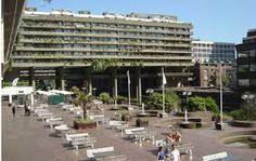 Resultado de imagen de the barbican Barbican, Street View, Towers