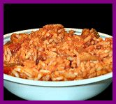 Tex Mex Chicken & Rice: Crockpot Weight Watchers Adapted