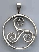 Celtic Triskelion symbol for personal development, human growth, and spiritual expansion. Represents continuous forward movement.  like this triskele for a tattoo