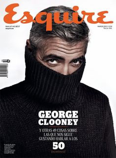 Esquire -- George Clooney