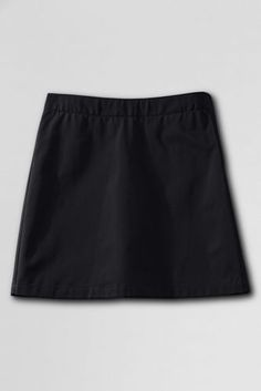Trinity's School Uniform Blend Chino Skort (Above The Knee) from Lands' End