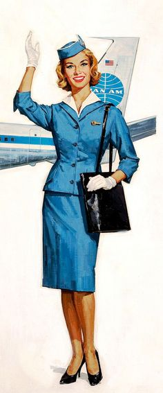 Glamor Girls of The Air: Dust off that Pan Am stewardess dress, it's time to wear it to an auction!