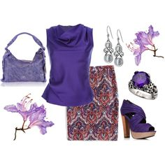 Fashion look from april 2012 featuring yellow dress heeled sandals - 1000 Images About Purple Amp Blue Outfits On Pinterest