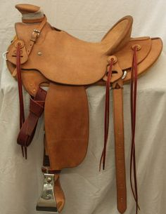 Hand Made Saddle! Might I say, the One to Have!!