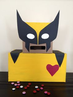 Superhero Valentine Box