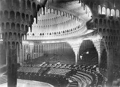 The Großes Schauspielhaus (Great Theater) was. Schauspielhaus Berlin, Hans Poelzig, Composition Design, Architecture Design, Art Projects, Germany, Louvre, Photography, Travel