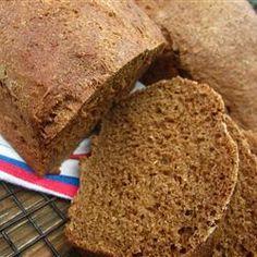 Best Ever Pumpernickel Loaf