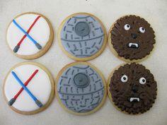 star wars cookies by megpi, via Flickr