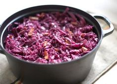 Braised Red Cabbage with Bacon Recipe - CHOW