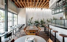 A former hardware store in LA is transformed into a low-key, high-style dining venue.