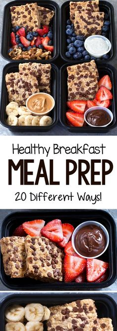 Super healthy breakfast meal prep recipes that are vegan and many can be gluten free health healthy breakfast mealprep vegan glutenfree 74309462588112180 Healthy Breakfast Meal Prep, Easy Healthy Meal Prep, Easy Healthy Recipes, Lunch Recipes, Cooking Recipes, Healthy Breakfasts, Dinner Healthy, Eating Healthy, Healthy Lunches