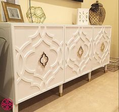 Diy Furniture: Wouldnt you just love this spectacular console? It...