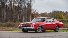 1970 Chevrolet Chevelle SS 396/350 HP, One Owner Car presented as lot F220 at Kissimmee, FL 2015 - image1