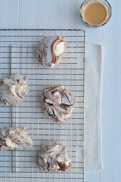 Chocolade merinques - 1.10 in de oven ipv 1u