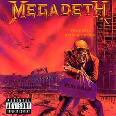 Megadeth - Peace Sells ... But Who Is Buying 180Gr. http://www.audioavm.com/Megadeth-Peace-Sells-But-Who-Is-Buying-180Gr,PR-2408.html