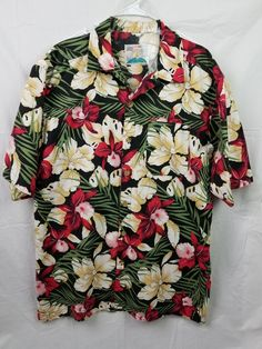e0edc1cf Vintage XL Men's Hawaiian Aloha Shirt
