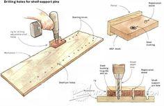 1809-DIY Shelf Pin Jig