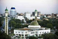 african cities | Khartoum, Sudan's capital city, North Africa