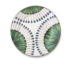 "Assiette ""Bahia"" en porcelaine via Goodmoods"