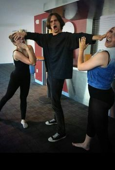 Matthew Gray Gubler-I'd love to know the story behind this!