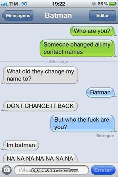 Damn Funny Texts #funny