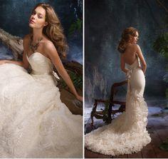 Tara Keely by Lazaro wedding gown